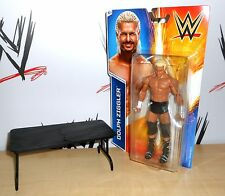 WWE - Dolph Ziggler - Mattel - Series 54 - wrestling figure w/ breakable table