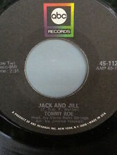 "TOMMY ROE 45 RPM ""Jack and Jill"" & ""Tip Toe Tina"" VG condition"