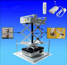 75cm Projector Bracket Motorized Electric Projector Lift with Remote Control E