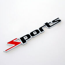 New Suzuki Sport Sports Rear Boot Badge Emblem Swift SZ SZ3 SZ4 SX4 Trunk 24s