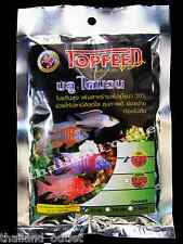 NEW! Granules Fish Food Malawi small Cichlids Floating Pellets Vivid colors 100g