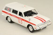 DeAgostini - GAZ 24-03 Ambulance - NEW IN PACKAGE - 1:43 - Free BE Ship!