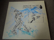 "Depeche Mode Everything Counts (In Larger Amounts) RARE 12"" Single"