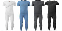 Mens Thermal T-Shirt & Long John Underwear Set Winter Warm Set Sizes Avl S-XXL
