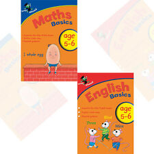Leap ahead Maths and English  Basics ages 5-6,2 set book collection,brand new UK