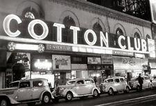 The Cotton Club Poster, Jazz, Night Club, Harlem, New York City