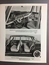 1962 Mercedes-Benz 220 S /SE Sedan Press Photo Foto RARE!! Awesome L@@K