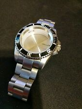 Watch Case Set 40mm Submariner for ETA 2836 GMT Movement or Hangzhou 6460 Parnis