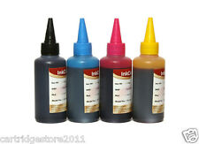 REFILL INK BOTTLES FOR EPSON 73N REFILLABLE CARTRIDGES & CISS(100ml *4)