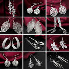 Fashion Women's Jewelry Sterling Silver Plated vintage Dangle charming Earrings