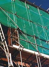 Fencing Shroud 1830 x 50m Green Building Sites Scaffolding Cover Mesh Temporary