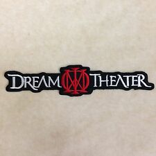 DREAM THEATER BAND HEAVY METAL LOGO MUSIC SEW EMBROIDERY IRON ON PATCH BADGE
