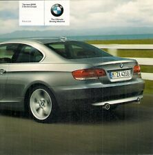 BMW SERIE 3 COUPE 2006-07 UK mercato specifica opuscolo 325 330 335