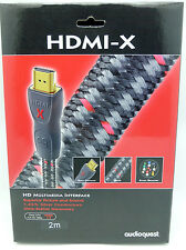 Audioquest HDMI-X 2 meter HDMI Cable