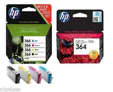 HP 364 SET OF 5  C5380 C6380 D5460 B8550 C5324 C6324