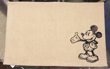 Disney Park Authentic Original Mickey Mouse Cloth Placemat NEW