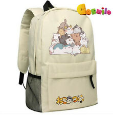 Japanese Game Neko Atsume ねこあつめ  Cute Cat Shoulder Bag Backpack School Bag Sa  E