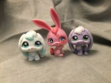 Littlest Pet Shop Figures Bunny rabbits x 3