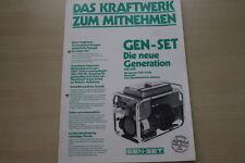 163612) Gen-set generatori PROSPEKT 197?