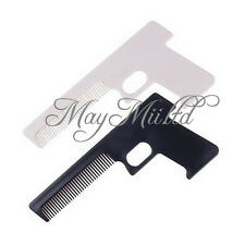 Novelty Pocket Hair Comb Shaped Like A Gun For Men And Women OV