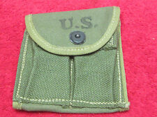 US WWII M1-Carbine Two Tone Stock Pouch dated 1943