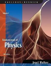 Fundamentals of Physics, Volume 1 (Chapters 1 - 20) by Halliday, David, Resnick