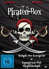 ~ DVD * PIRATEN-BOX - Schatz der Korsaren & Kampf um den Piratenschatz # NEU OVP