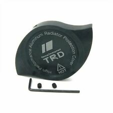 NEW JDM CNC Aluminum TRD Car Radiator Protection Cap Cover BLACK  camry, corolla