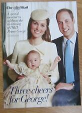 Christening of HRH Prince George – The Mail on Sunday Special Souvenir