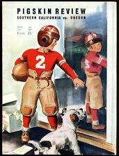 1939 USC v Oregon Football Program Ex Condition