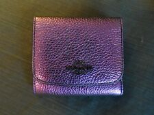 $99  Authentic COACH Small Wallet in Hologram Leather 55719