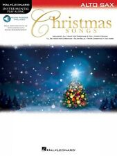 Christmas Songs for Alto Sax Instrumental Play-Along Instrumental Play 000146859