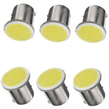 10x White 1156 BA15S P21W 1 COB LED Reverse Backup light Lamp Bulb