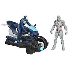 """Marvel Avengers Age of Ultron Ultimate Leader Iron Man 2.5"""" Figures & Motorcycle"""