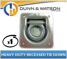 Heavy Duty Recessed Tie Down x1 Caravan, Horse Float Camper Trailer lashing ring