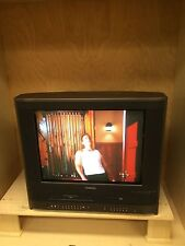 "TOSHIBA MW20H63 20"" CRT TV DVD VHS VCR PLAYER COMBO COLOR"