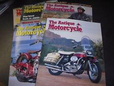 2005-06 ANTIQUE MOTORCYCLE MAGAZINES 5 ISSUES MAG21