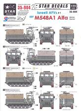 Star Decals 1/35 ISRAELI AFVs Part 1 M548A1 ALFA AMMO CARRIER