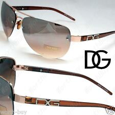 New DG Eyewear Aviator Mens Womens Sunglasses Shades Fashion Designer Rimless