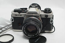 Olympus OM-4 Ti Film camera w/50mm f1.8 Lens *Mint*