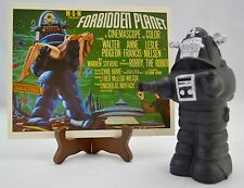 Vintage Forbidden Planet Robby The Robot Coin Bank & Large Post Card