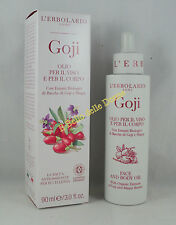 ERBOLARIO Olio Viso e Corpo GOJI 90ml idratante face and body oil goji e maqui