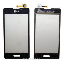 LG E460 Optimus L5 Lente de Pantalla Táctil Digitalizador Negro II Almohadilla de Vidrio de Repuesto 2