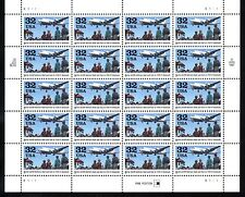BELOW FACE VALUE! #3211 BERLIN AIRLIFT. WHOLESALE LOT OF 4 SHEETS. F-VF NH OG.