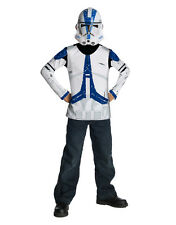"Clone Trooper Kids Star Wars Costume Top, Medium,Age 5 - 7, HEIGHT 4' 2"" - 4' 6"""