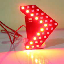 1x Red 33-SMD Sequential LED Arrows Panel for Car Side Mirror Turn Signal Light