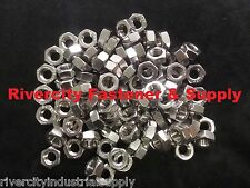 (1) M8-1.0 Metric FINE Thread Hex Nut Stainless Steel 8mm Nuts With 13 Hex