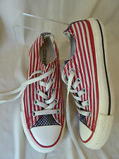 CONVERSE ALL STAR  basket Basses rayures Drapeau americain T 36 US 5.5