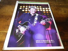 JOHNNY HALLYDAY - Mini poster couleurs 19 !!!!!!!!!!!!!!!