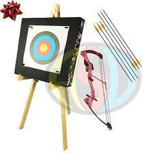 ASD Pink Avenger Kids / Child Archery Compound Bow Package With Target & Stand